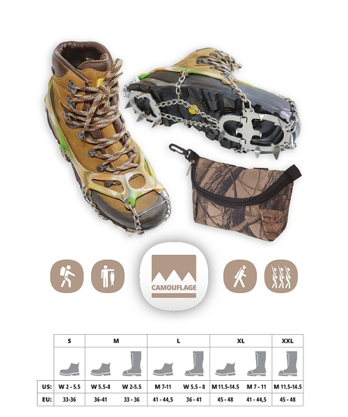 CAMOUFLAGE CRAMPONS